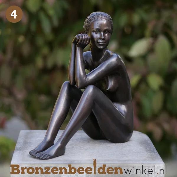 NR 4 | Cadeau man 90 jaar ''Zittende vrouw'' BBW0511br