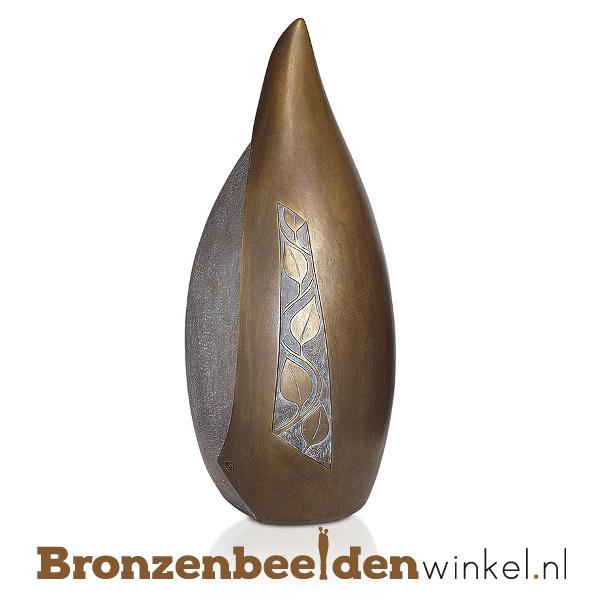 """Bronzen urn """"Stijlvol gedenken"""" BBW57002"""