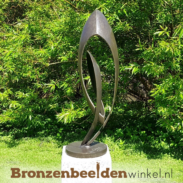 "Abstract tuinbeeld ""Sierlijk"" BBW2682br"