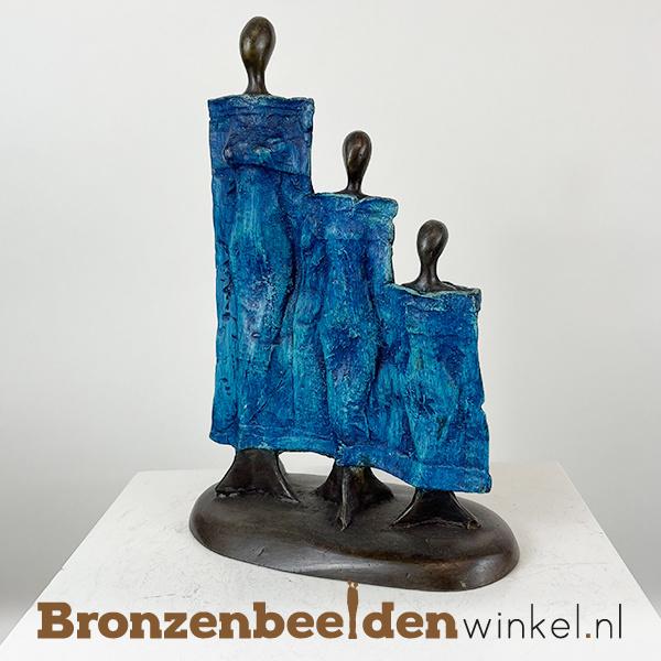 """Afrikaans gezinsbeeld """"De drie zussen"""" 25 cm BBW009br98"""