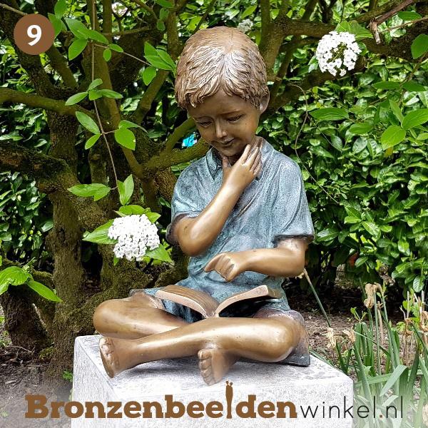NR 9 | Cadeau man 80 jaar ''De lezende jongen'' BBW1561br
