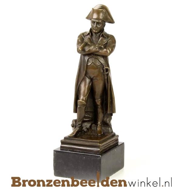 """Beeldje """"Admiraal"""" brons BBWDSXT-116"""