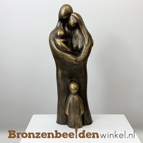 """Geboortegeschenk """"Uitgebreid gezin 4 personen"""" BBW071br62"""