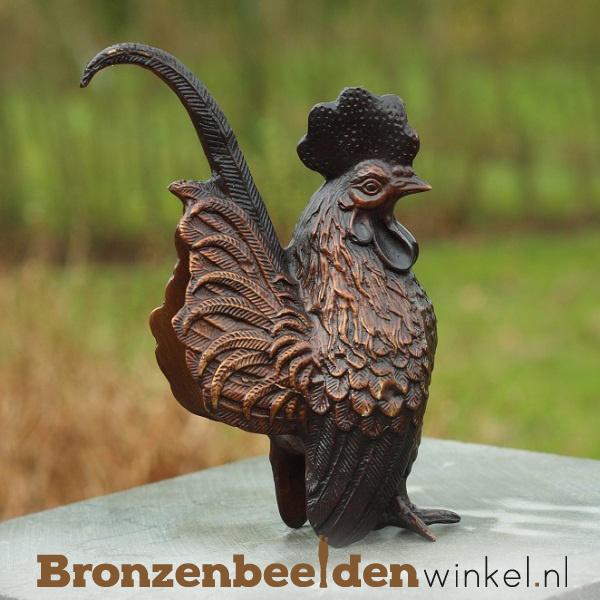 Bronzen beeld kip BBW4333br