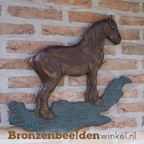 """Muurdecoratie """"Brabants trekpaard"""" BBW1238br"""