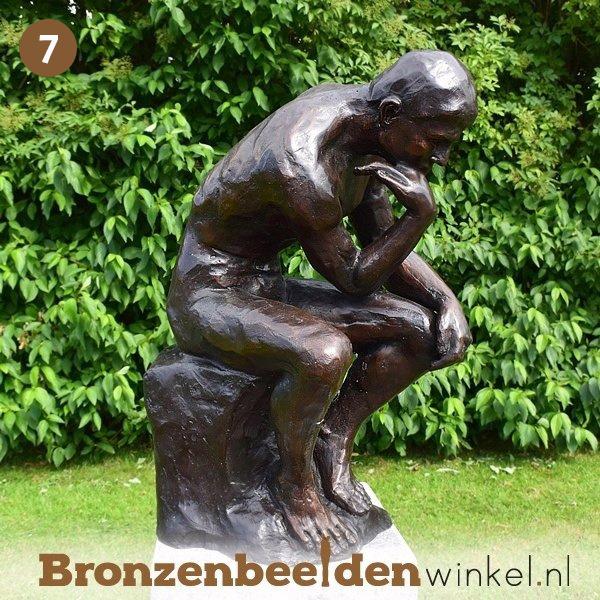 NR 7   Cadeau man 50 jaar ''De Denker van Rodin'' BBW55878