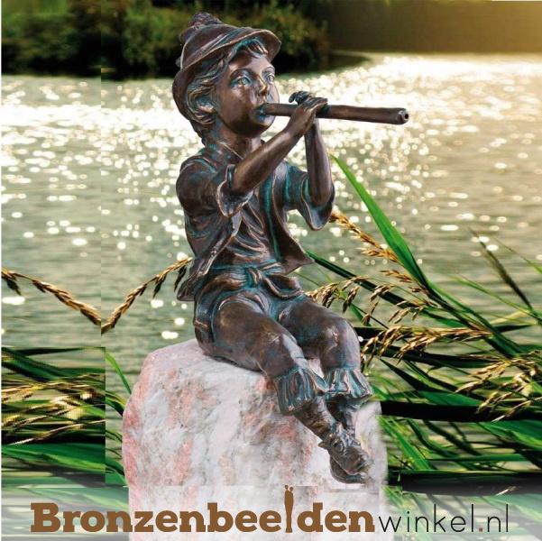 "Tuinbeeld ''Gerard met fluit"" BBWR991240"