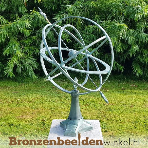 Moderne zonnewijzer van brons BBW0107br