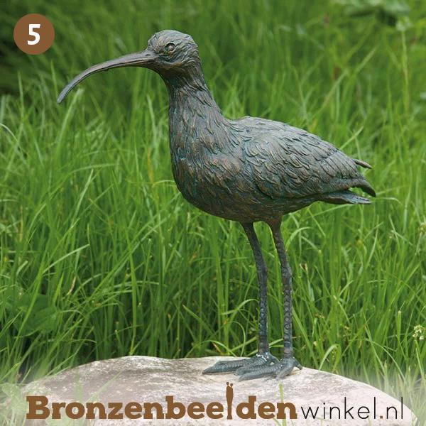 NR 5   Cadeau man 60 jaar ''Bronzen wulp'' BBWR88471