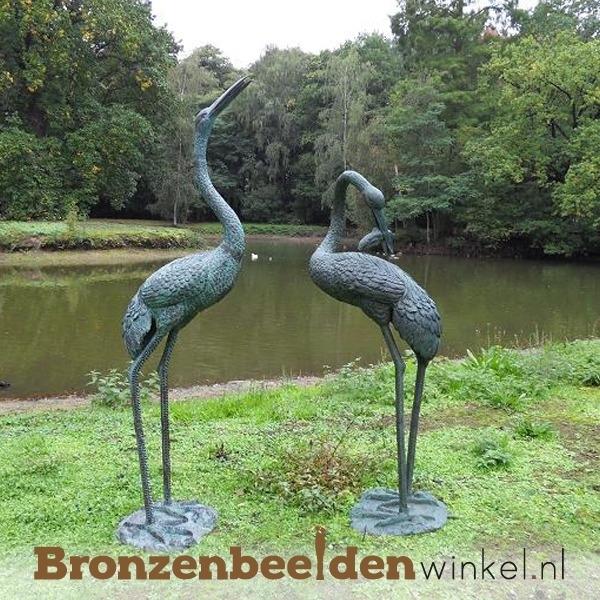 Bronzen kraanvogels BBW571 & BBW571-1