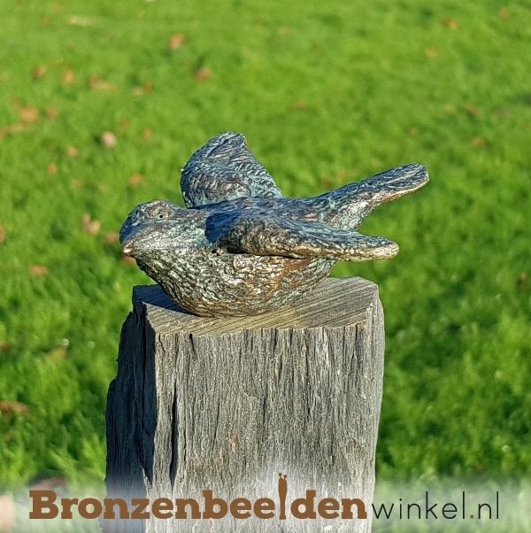 Vogel beeldje in brons BBWR88103