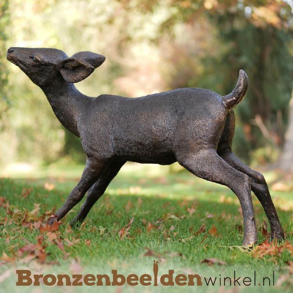 Jong hertje in brons BBW47238