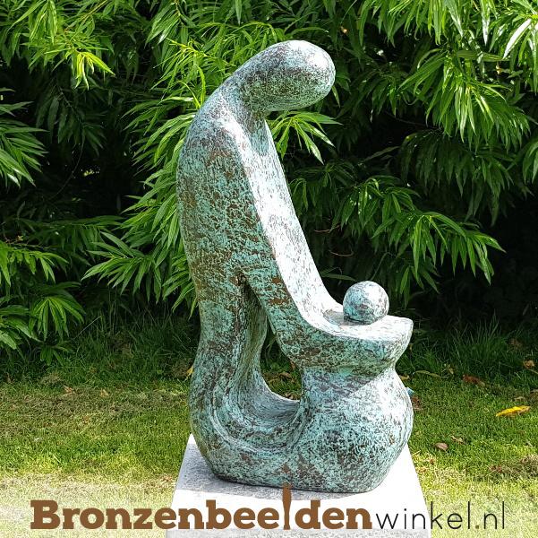 """Tuinbeeld """"Moeder en Kind"""" BBW52227br"""