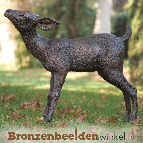 Jong hertje in brons BBW47236