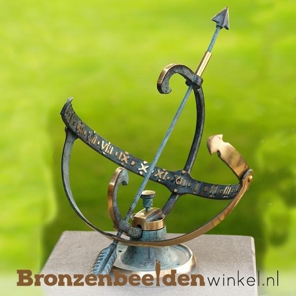 Kleine zonnewijzer brons BBW0001br