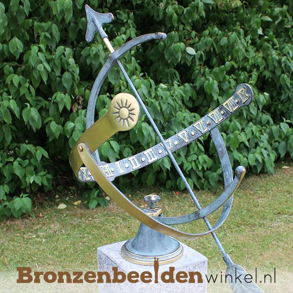 Bronzen zonnewijzer BBW0029br