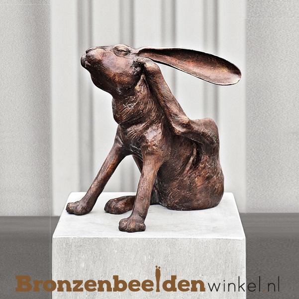 Hazen beeld in brons BBW94575