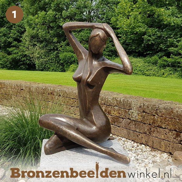 NR 1 | Cadeau vrouw 75 jaar ''Vrouw abstract'' BBW1189br