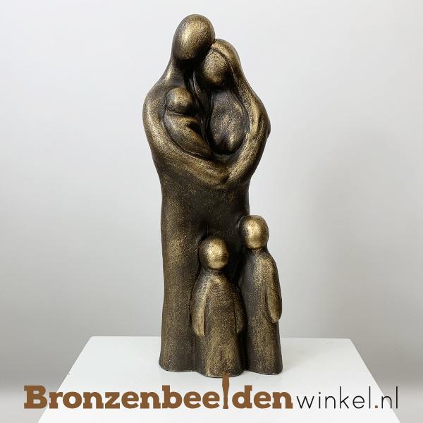 """Geboorte beeldje """"Uitgebreid gezin 5 personen"""" BBW071br63"""