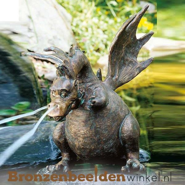 Spuitfiguur Draken beeld als fontein BBWR90143