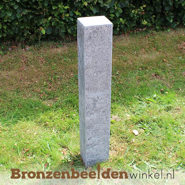 Hardsteen sokkel 90x15x15 cm