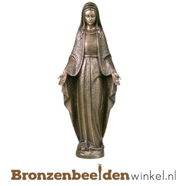 Bronzen Mariabeeld met zegende handen BBWP6503