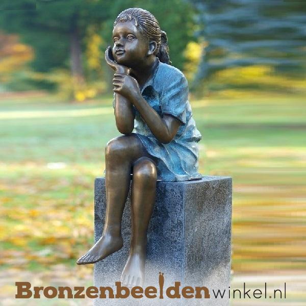 Kinderbeeld zittend meisje BBW0639br
