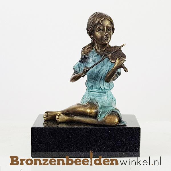 Kinderbeeld meisje met viool BBW1500br