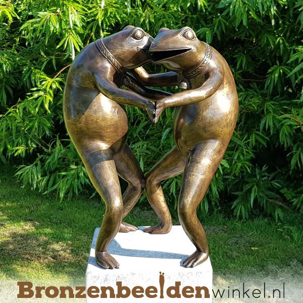"""Tuinbeeld """"Dansende Kikkers"""" BBW0360br"""
