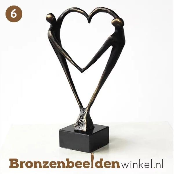 """NR 6   Getuige vragen cadeau """"Het Hart"""" BBW003br67"""