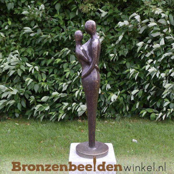 Bronzen koppel tuinbeeld BBW0636br