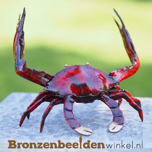 Beeld reuzenkrab in brons BBW5115br
