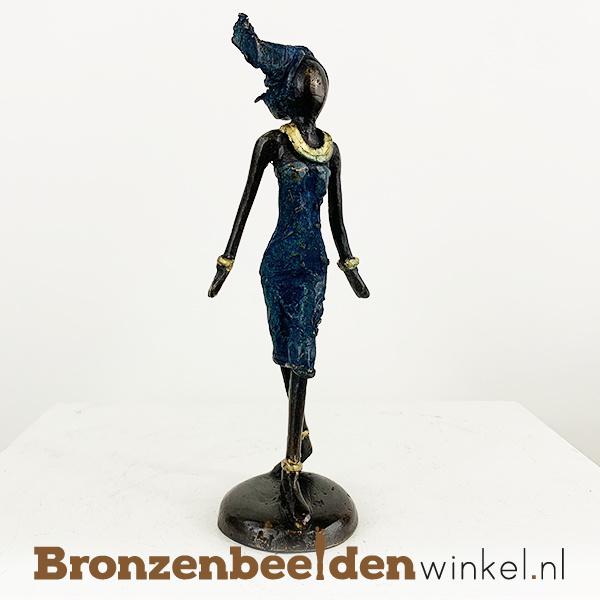 """Afrikaans beeld """"Nala"""" 16 cm BBW009br37"""