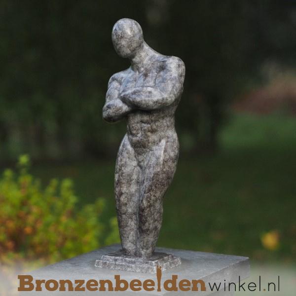 "Tuinbeeld ""De Sterke Man"" BBW2343br"