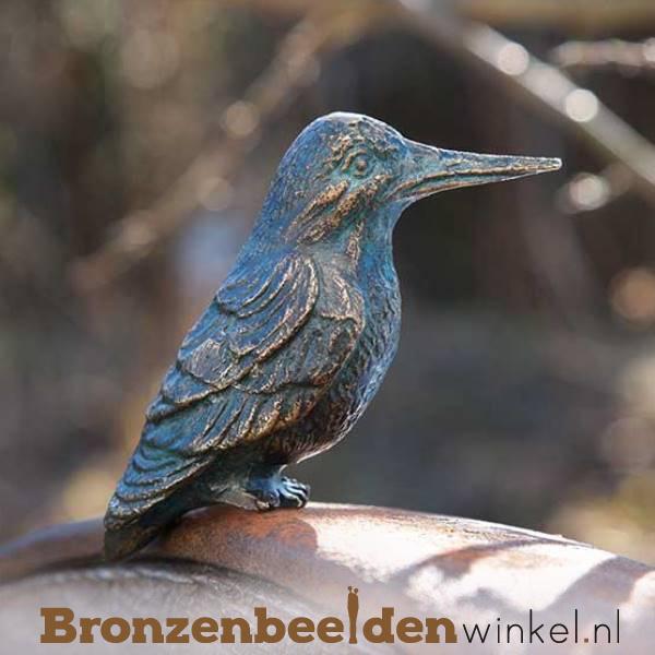 IJsvogel beeldje brons BBWR88236