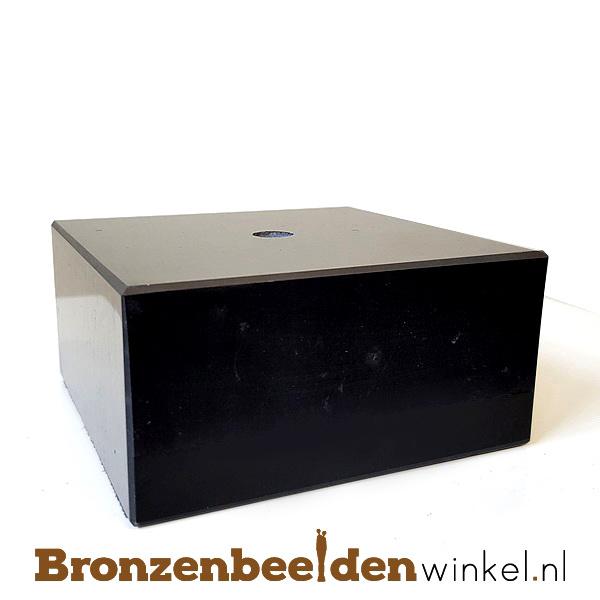 2x Marmeren sokkel 5x10x10 cm