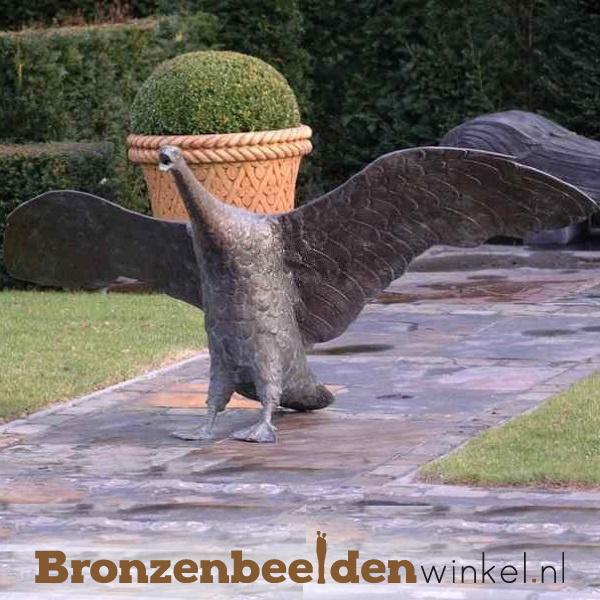 Bronzen zwaan als fontein BBW55875br