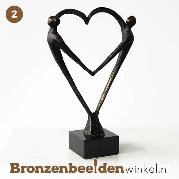 Nr 2 45 Jaar Getrouwd Cadeau Het Hart Bbw003br67