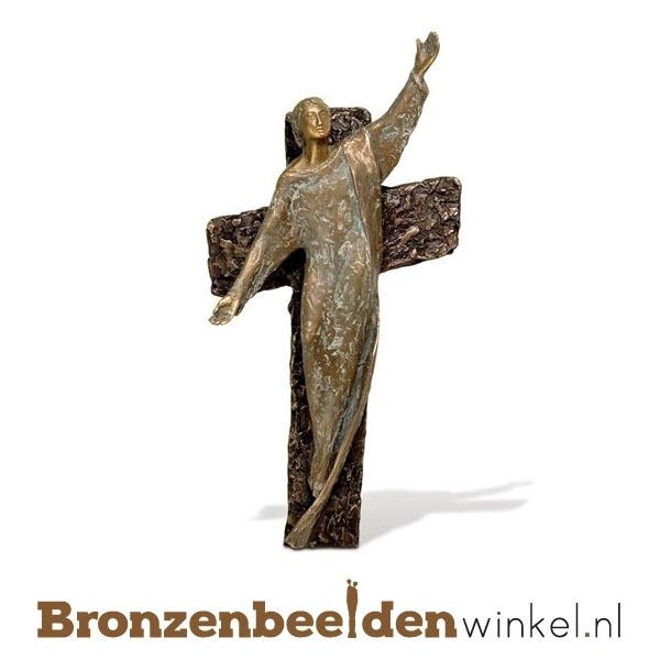 Bronzen Jezus Christus beeld BBW84147