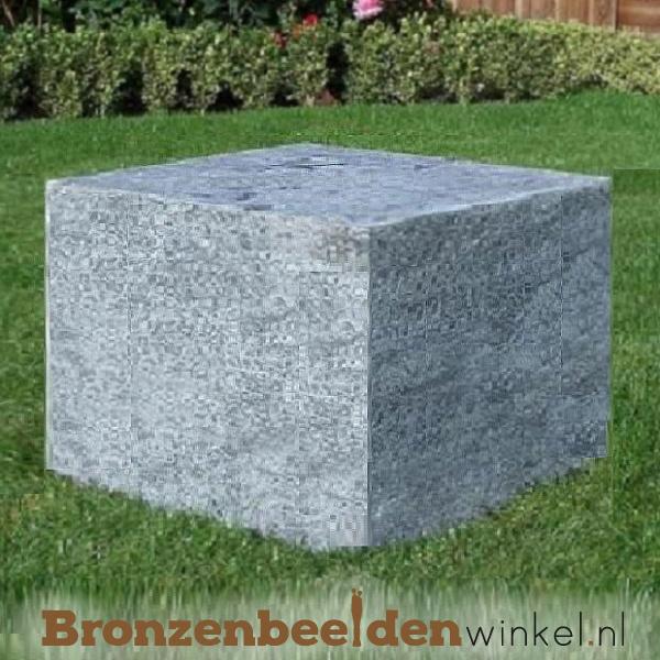 Hardsteen sokkel 60x60x40 cm