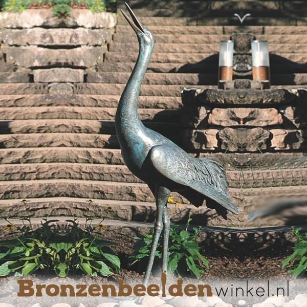 Bronzen kraanvogel BBW84280