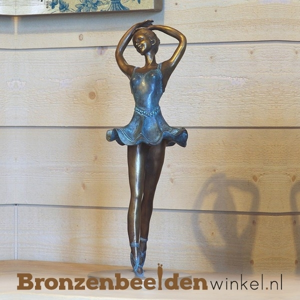Ballerina beeld brons BBW0953