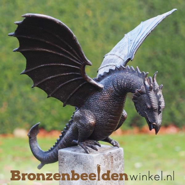 Bronzen draken beeld BBW6791