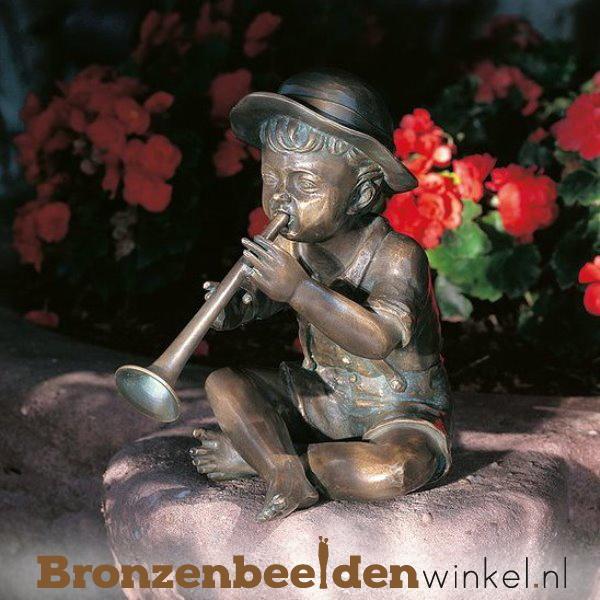 """Tuinbeeld """"Victor met fluit"""" BBWR88325"""