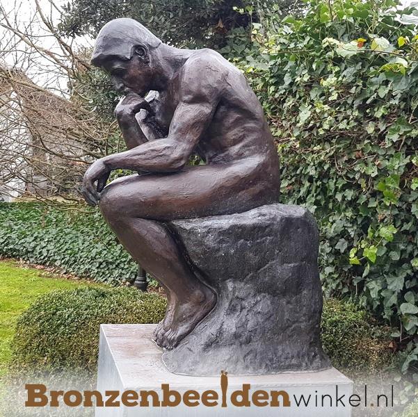 Groot standbeeld De Denker van Rodin BBW55675