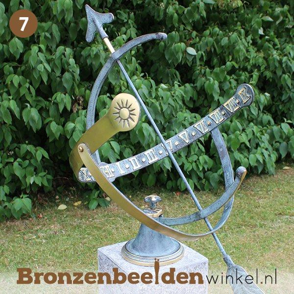 NR 7 | Cadeau vrouw 60 jaar ''Bronzen zonnewijzer'' BBW0029br
