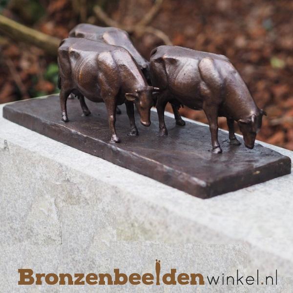 Bronzen koeien beeld BBWAN1294BR
