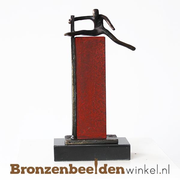 """Jubileumgeschenk """"De lat hoog leggen"""" BBW005br82"""