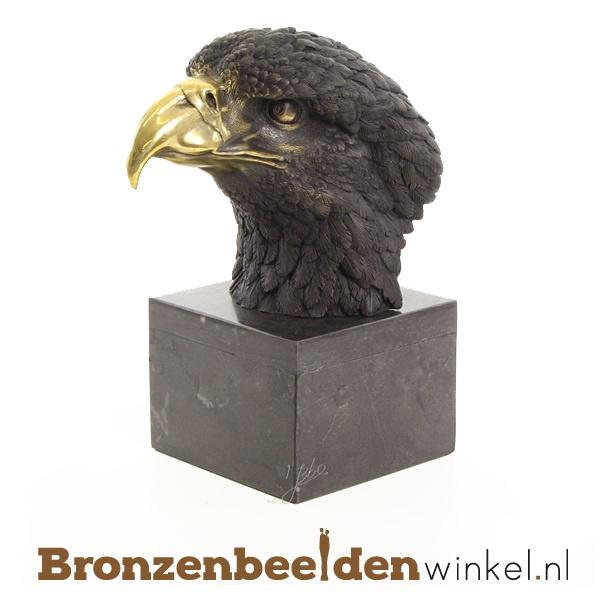 Bronzen beeldje adelaar BBWFA100