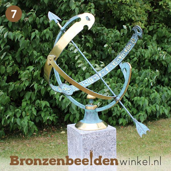 NR 7 | 75 jaar verjaardagscadeau ''Bronzen zonnewijzer'' BBW0028br